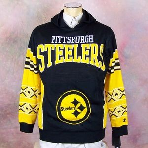 Pittsburgh Steelers Men's Hooded Sweater New Tag